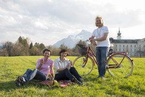 Picknick im Hellbrunner Park